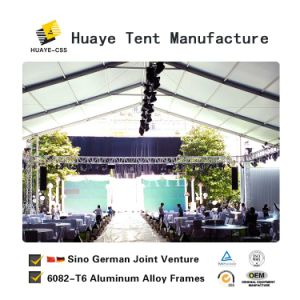Wedding Party Event Catering Tents with Glass Door for Sale