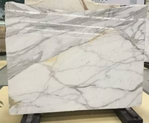 Polished/Natural/Snow Flower/White Marble Slabs for Hall Flooring/Stairs Steps/Water-Jet Design/Work Tops