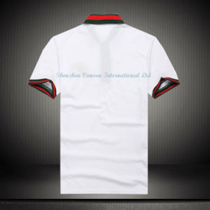 Custom White Cotton Embroidery Polo Shirt/ Polo T Shirt pictures & photos
