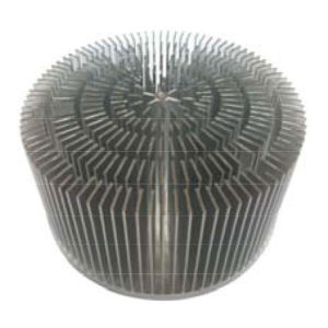 30W Cold Forged Aluminum LED Heatsink Radiator