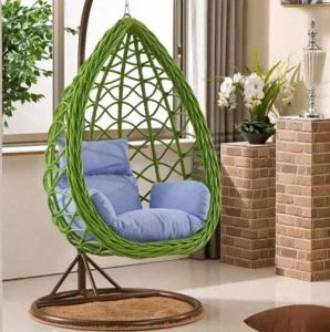 Outdoor Chair/Rattan Egg Shape Furniture Garden Swing Chair