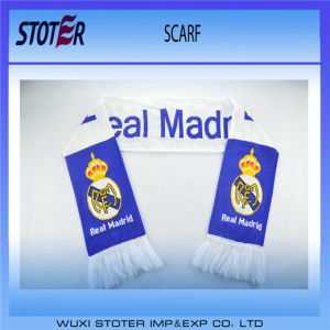 Wholesale Custom Logo Soccer Event Knitted Scarf