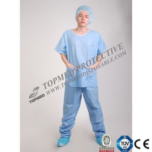 Disposable Doctor Scrub, Nonwoven SMS Doctor Scrub Suits pictures & photos