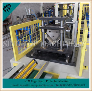 V Shape Paper Angle Edge Board Machine pictures & photos