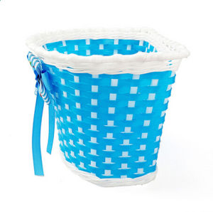 PVC Colorful Bicycle Front Basket for Kids Bike (HBK-176) pictures & photos