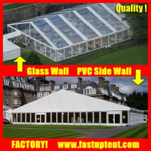 Clear Roof Tarpaulin Water Proof Wedding Banquet Fabric Tents Malaysia pictures & photos