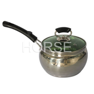 Milk Heating Pot with Glass Lid (NG-001)