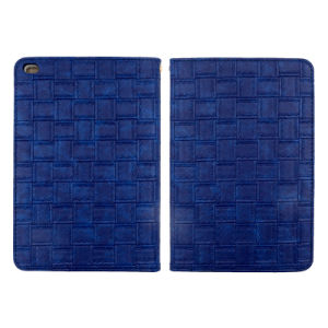 Big Cell Weave Pattern Leather Cases for iPad/iPad Mini