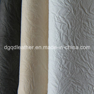 Good Seam Strength Artificial Leather Qdl-50205 pictures & photos