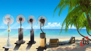 16 Inch Copper Motor Water Mist Fan pictures & photos