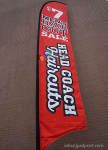 Outdoor Flying Beach Banner Flags for Advertising Display