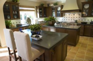 Dark Walnut Kitchen Cabinets (dw45) pictures & photos