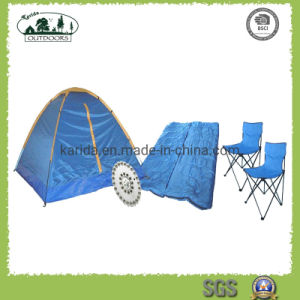 Camping Tent Combo With Chair And Sleeping Bag