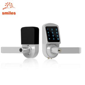 Entry Door Locks >> Keyless Entry Door Lock Support Touchscreen Passcode And Mechanical Keys Functions