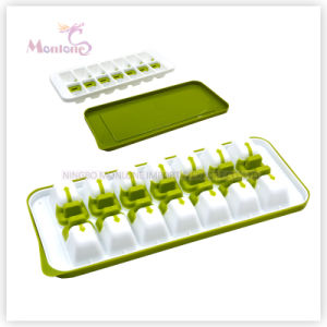 Cooking Tools 14-Cavity Ice Cube Tray with Cover 31*13*3.5cm pictures & photos