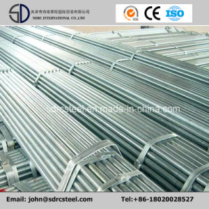 Q235/Q345 1/4′′mm-4′′mm out Diameter Pre-Galvanized Steel Round Pipe pictures & photos