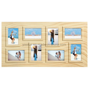 Plastic Multi Openning Collage Home Decoration Wall Mounted Picture Photo Frame
