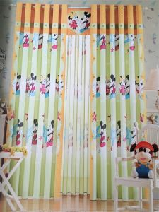 Home Use Curtain Polyester Fabric EDM5328