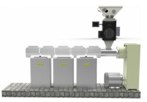 Multi-Component Plastic Weigh Feeders/ Batchers for Plastic Injection pictures & photos
