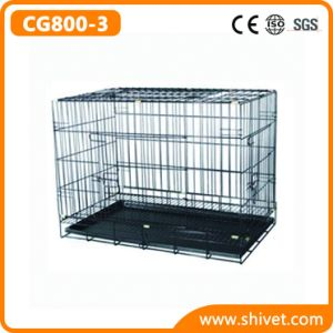 Power-Coating Wire Dog Cage (CG800-3)