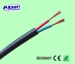 3 Cores Flexible Copper Conductor Double PVC Insulation Eletrical Power Cable pictures & photos