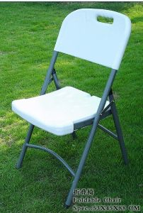 HDPE White Folding Chair Wedding Garden Chair