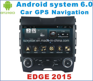 Android System 6.0 Car Navigation for Ford Edge 2015 with Car GPS Navigation