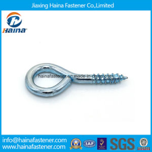 Carbon Steel Zinc Plated Wood Threaded Eye Screw, Lag Eye Screws pictures & photos