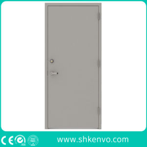 Hollow Metal Fire Rated Double Doors with Vision Panel pictures & photos