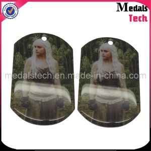 Factory Direct Sale Cheap Metal Wholesale Sublimation Dog Tags pictures & photos