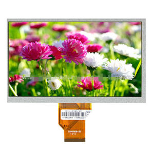 "7"" TFT LCD Touch Screen, High Resolution 1024*600p"