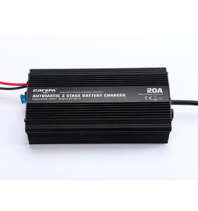 Portable 12V 20A 3 stage Automatic Battery Charger pictures & photos