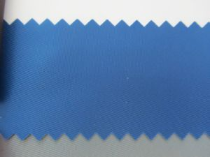 150d Polyester Twill Oxford Fabric with PU Coating for Bags pictures & photos