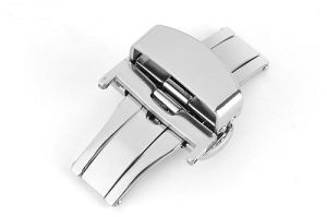 High Quality Double Pushbutton Deployment Clasp Watch Parts Manufacturer