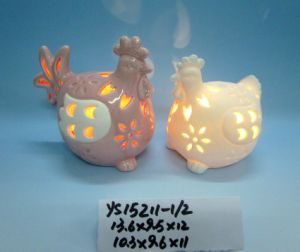 Ceramic Animal Tealight Candle Holder for Easter Decoration pictures & photos