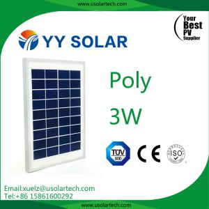 3watt/5watt Low Price Mini Solar Panel pictures & photos