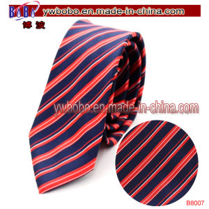 Silk Necktie Skinny Tie Nylon Cable Tie Party Supply (B8007)