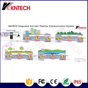 Kntech Integrated Corridor Pipeline Communication System Solution Project IP PBX pictures & photos