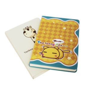 Custom Printing Lovely Hard Cover Diary Notebook pictures & photos