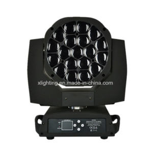 Best Price LED 19PCS*15W Big Bee Eye Moving Head Light with Zoom pictures & photos