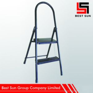 Two Treads Metal Step Ladder