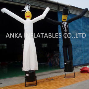 Wedding Celebration Inflatable Bride and Groom Air Dancer pictures & photos