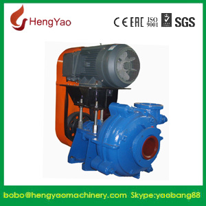 Corrosion Resistant Fine Tailing Handling Slurry Pump Producer