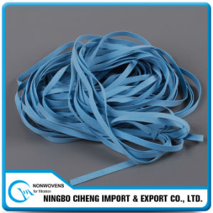 Stretched Tape Textile Pure Rubber Color Custom Elastic Bands pictures & photos