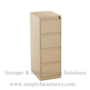 Vertical Filing Cabinet 4 Drawers (SPL-VFC04) pictures & photos