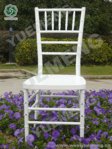 White Resin Chiavari Chair (YM1103W)