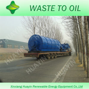 Oil From Tyre Scrap Process Machinery (HY-10)