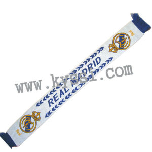 La Liga Spanish Association Football League Real Madrid Football Scarf