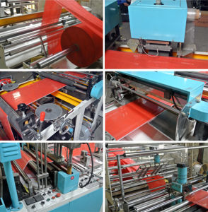 Nonwoven Box Bag Making Machine Xy-600/700/800 pictures & photos
