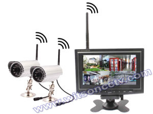 Wireless Digital Camera with 7 Inch LCD Monitor, SD-Card Recording, 2 Way Talking pictures & photos